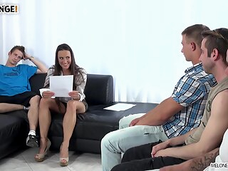 MeloneChallenge - Playful Four anal big tits brunette