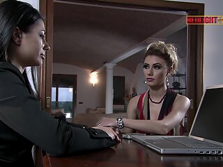Crystal Crown, TINA GABRIEL and Simony Diamond in The Dark Lady anal blonde brunette