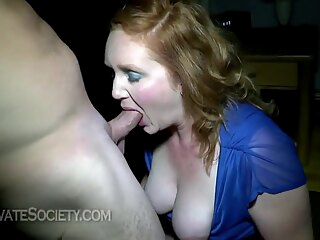 Busty milf with dirty mind is into sucking and fucking, all night long, if possible big tits handjob hd