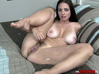 PORNSTARPLATINUM MILF Mindi Mink Teases Foot Fetish Stepson big ass big tits brunette