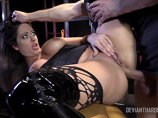 Devianthardcore Holly Heart anal bdsm big tits