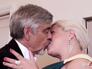 AgedLovE Mature With Big Tits Got Rough Fuck masturbation mature toys