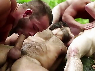 Pagan Forest I (PMV) Bisexual Outdoor Pagan Ritual Sex cumshot hardcore group sex