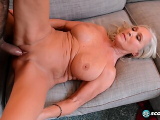 Katia happy return has a happy ending big tits blonde cumshot