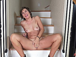 AllOver30 - Lillian Tesh Interview brunette granny hd