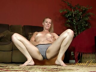 AuntJudys - Lacy Solo blonde hd milf