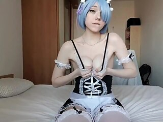 Rem Cosplay amateur anal hd